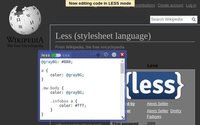 Live-CSS-Editor-for-Firefox - gtarafdar