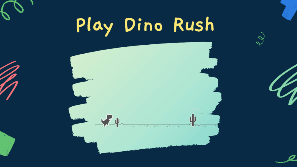 dino rush chrome game